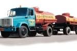 топливозаправщик на базе зил